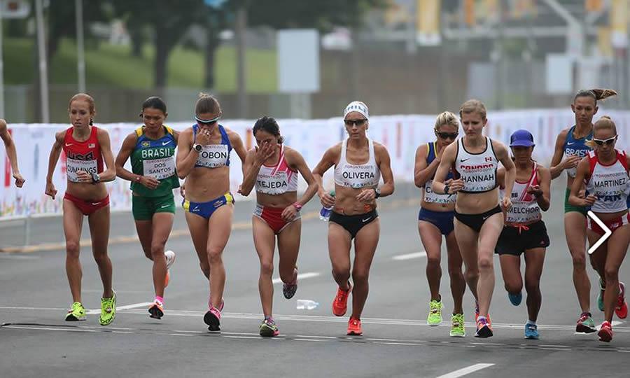 Toronto 2015: Inés Melchor se retiró de maratón