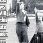 """The Sun"" publica una foto de Isabel II haciendo saludo nazi"