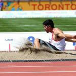 Jorge Mc Farlane clasifica a final de salto largo en Toronto 2015