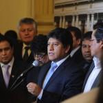 Gana Perú pide discutir agenda nacional y dejar caso Nadine Heredia