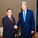 EEUU confirma que Kerry se reunirá el lunes con canciller cubano