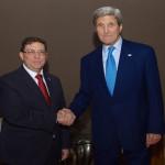 EEUU: John Kerry se reunirá el lunes con el canciller cubano
