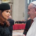 Argentina: Cristina Fernández viaja a Paraguay para ver al papa