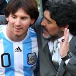 """Maradona: Messi sigue siendo un fenómeno pero no hay que """"mimarlo"""""""