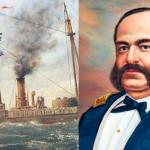 Efemérides 8 de octubre: Inmolación de Miguel Grau en el Combate de Angamos