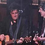 """Mikel Erenxtun cantó junto a Christian Meier y """"Pelo"""" Madueño"""