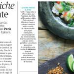 Gastronomía peruana alabada por la prensa italiana