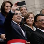 Ministro Gallardo dice que 'selfie' refleja alegría en Gabinete
