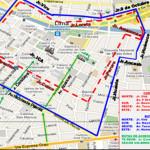 Fiestas Patrias: rutas para 28 de julio por cierre de calles