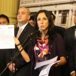 Nadine Heredia: denuncia buscaría tapar caso narcoindultos
