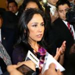 """Nadine Heredia sobre agendas: """"No son mías, son cuentas irreales"""""""