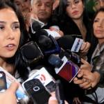 Nadine Heredia presenta acción de amparo contra comisión Belaunde Lossio