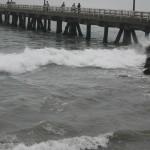 Oleajes anómalos en litoral centro y sur desde el lunes