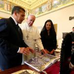 Papa Francisco envía saludo a Perú y Humala reitera invitación