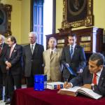 Humala, primer presidente latinoamericano en visitar la RAE