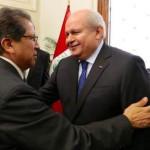 Pedro Cateriano felicita a Fiscal de la Nación Pablo Sánchez