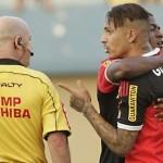 Flamengo gana 1-0 al Goiás con 'medio gol' de Paolo Guerrero