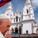 Papa celebra misa en Guayaquil y se reúne con amigo jesuita