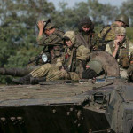Ucrania: prorrusos anuncian repliegue unilateral de artillería