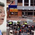 Colombia: anuncian regreso de presidente Santos por atentados