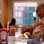 La Mole de Los 4 Fantásticos quiere una hamburguesa
