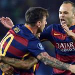 Barcelona iguala récord de AC Milán en la Supercopa de Europa
