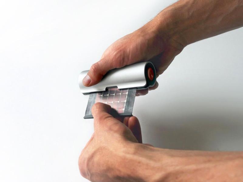 Cargador-solar-enrollable