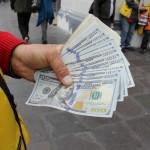 Tipo de cambio del dólar ante el sol inicia el año en alza: S/. 3.423