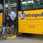 Impulsarán ley para que discapacitados no paguen pasaje urbano