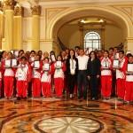 Olimpiadas Especiales 2015: Ollanta Humala premia y agradece las 38 medallas