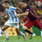Liga BBVA: Barcelona gana 1-0 a Málaga con gol de Thomas Vermaelen