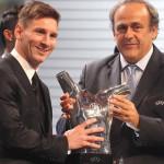 Lionel Messi es elegido el Mejor Jugador de la UEFA 2014-15