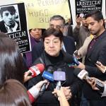 """Viuda de periodista Hugo Bustíos: """"Daniel Urresti se contradice"""""""