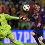 Lionel Messi supera a Cristiano y gana premio al mejor gol de la UEFA