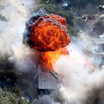 1,000 policías destruyen 22 campamentos mineros ilegales (Fotos)