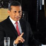 Ollanta Humala: PNP reasumirá control en el Vraem