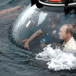 Putin desciende a las profundidades del mar Negro