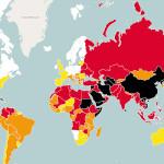 RSF: Clasificación mundial de la libertad de prensa 2015