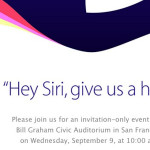 Apple difunde insólitas invitaciones para su evento del año