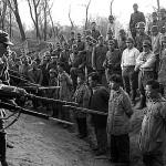 Soldados japoneses frieron y comieron carne de un chino