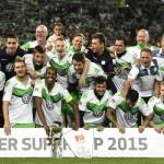 Wolfsburgo con Carlos Ascues ganó la Supercopa Alemana en penales
