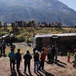 Accidente de camioneta deja un muerto y al menos 11 heridos en Piura