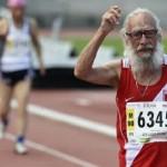 Atleta peruano de 95 años es Campeón Mundial Master en Francia