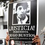 Hugo Bustíos: incorporan como prueba manuscritos de periodista