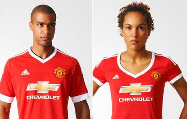 Manchester United es tildado de  sexista  por nueva camiseta ... cfd293abcc00f
