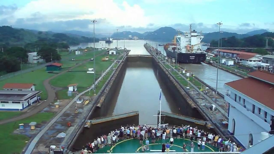 canal and and panama: