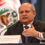 Pedro Cateriano saluda propuesta para continuar diálogo político