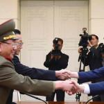 Continúa reunión de las dos Coreas para solucionar la crisis militar