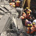 India: doce muertos y siete heridos deja derrumbe de edificio