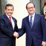 Ollanta Humala se reunirá con François Hollande en Nueva York